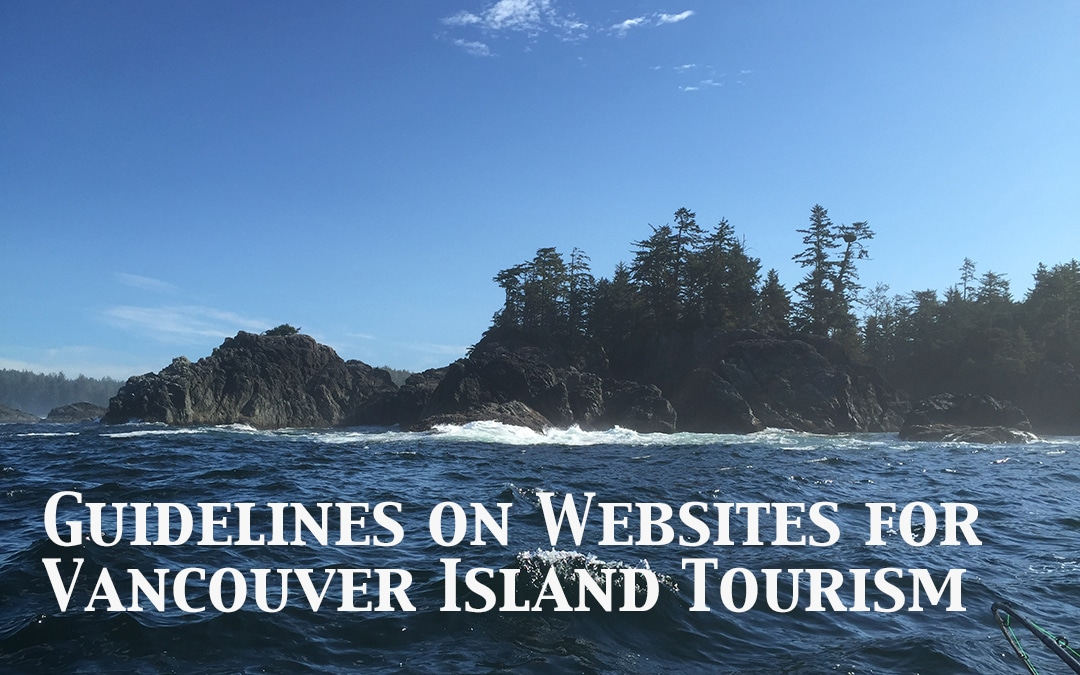 Guidelines on Websites for Vancouver Island Tourism