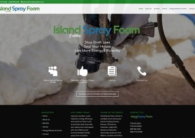 Island Spray Foam