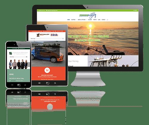 Nanaimo responsive website design examples