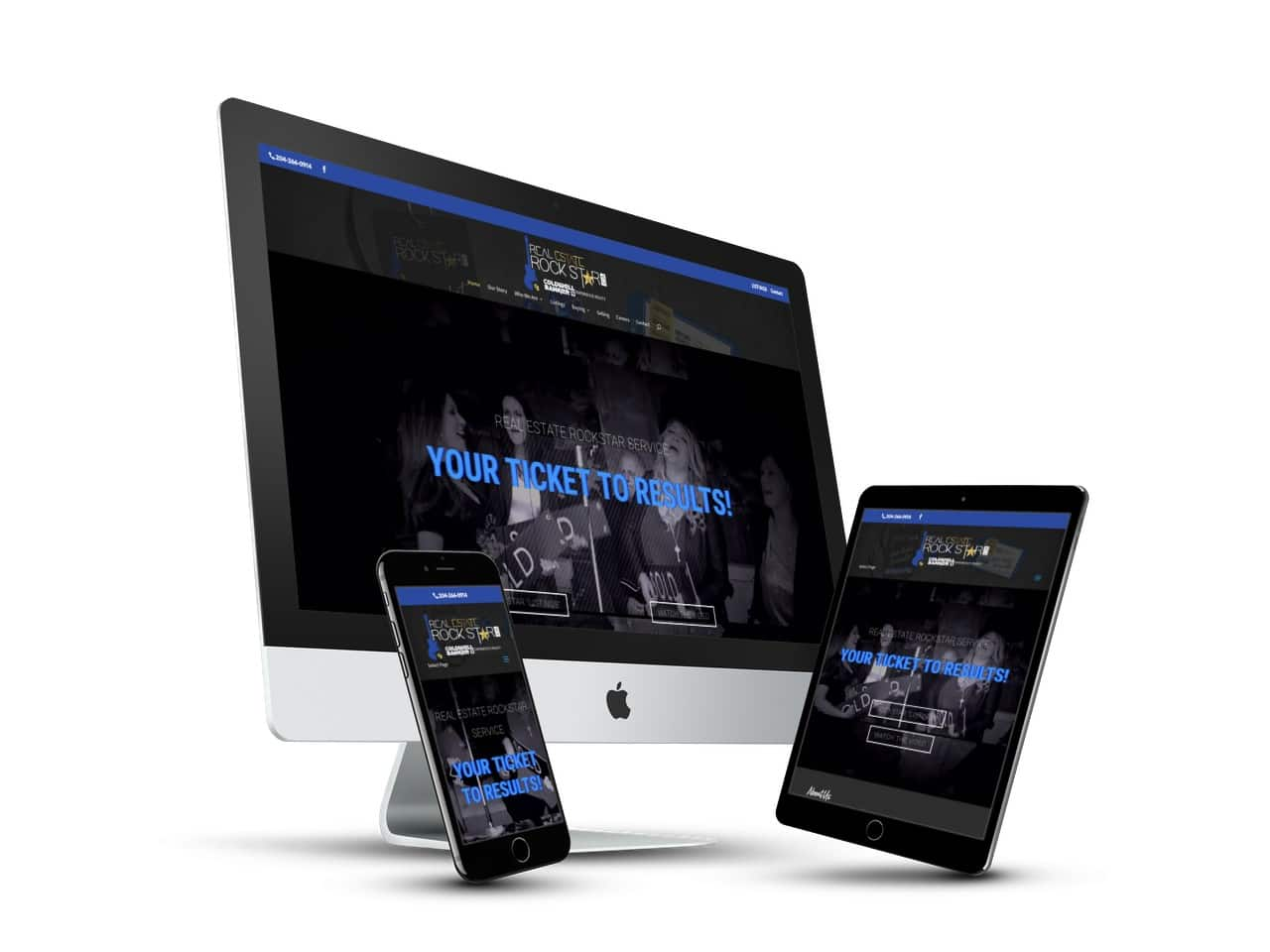 Branding, Print Design, Website Design - Coldwell Banker Experience Realty